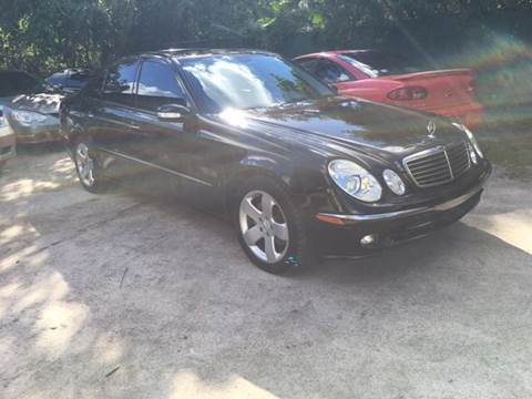 2006 Mercedes-Benz E-Class for sale in Jacksonville, FL