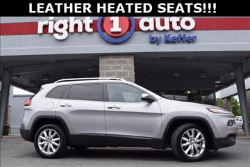 2016 Jeep Cherokee for sale in Huntersville, NC