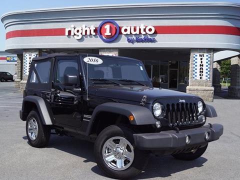 2016 Jeep Wrangler for sale in Huntersville, NC