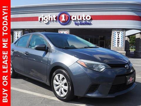 2014 Toyota Corolla for sale in Huntersville, NC