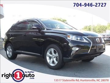 2013 Lexus RX 350 for sale in Huntersville, NC