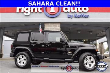 2014 Jeep Wrangler Unlimited for sale in Huntersville, NC