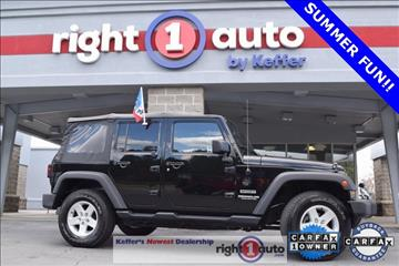 2015 Jeep Wrangler Unlimited for sale in Huntersville, NC