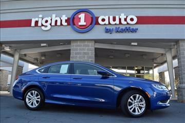 2016 Chrysler 200 for sale in Huntersville, NC