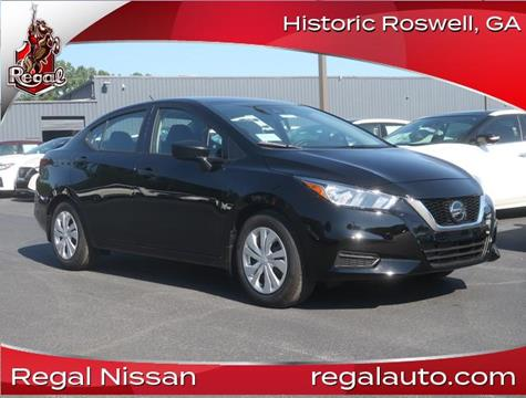 2020 Nissan Versa for sale in Roswell, GA