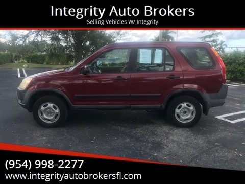 2004 Honda CR-V for sale in Pompano Beach, FL
