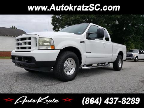 2003 Ford F-250 Super Duty for sale in Anderson SC