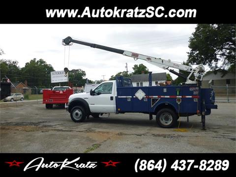 2005 Ford F-550 for sale in Anderson, SC