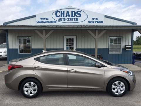 2016 Hyundai Elantra for sale at Chads Auto Center in Oologah OK