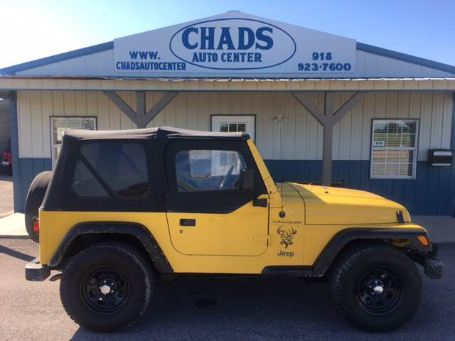 2000 Jeep Wrangler for sale at Chads Auto Center in Oologah OK