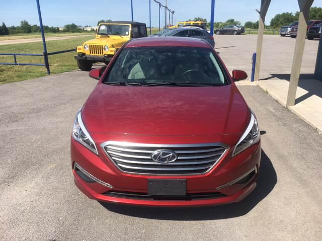 2015 Hyundai Sonata for sale at Chads Auto Center in Oologah OK