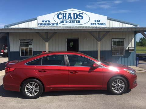 2015 Hyundai Sonata for sale at Chads Auto Center in Oologah OK