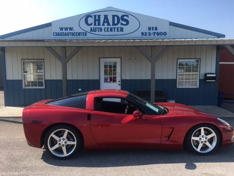 2005 Chevrolet Corvette for sale at Chads Auto Center in Oologah OK