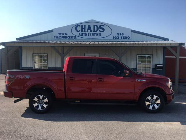 2013 Ford F-150 for sale at Chads Auto Center in Oologah OK