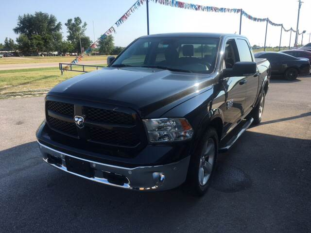 2015 RAM Ram Pickup 1500 for sale at Chads Auto Center in Oologah OK