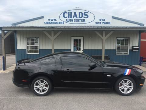 2012 Ford Mustang for sale at Chads Auto Center in Oologah OK