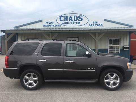 2011 Chevrolet Tahoe for sale at Chads Auto Center in Oologah OK