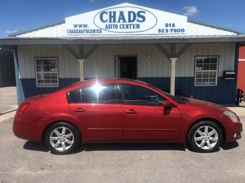 2004 Nissan Maxima for sale at Chads Auto Center in Oologah OK