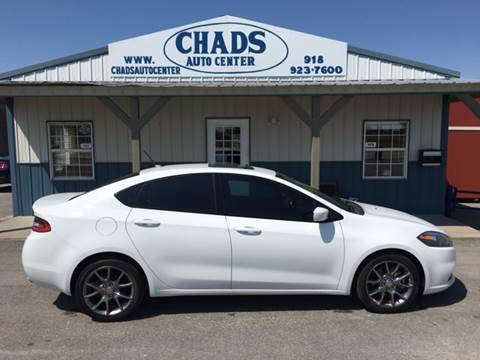 2013 Dodge Dart for sale at Chads Auto Center in Oologah OK