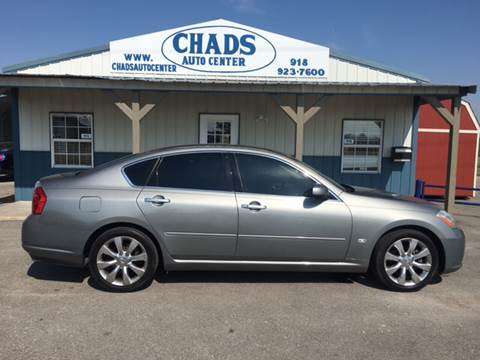 2006 Infiniti M35 for sale at Chads Auto Center in Oologah OK