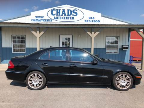 2008 Mercedes-Benz E-Class for sale at Chads Auto Center in Oologah OK