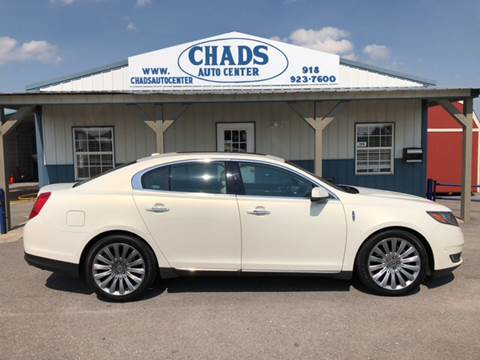 2013 Lincoln MKS for sale at Chads Auto Center in Oologah OK