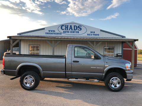 2006 Dodge Ram Pickup 2500 for sale at Chads Auto Center in Oologah OK