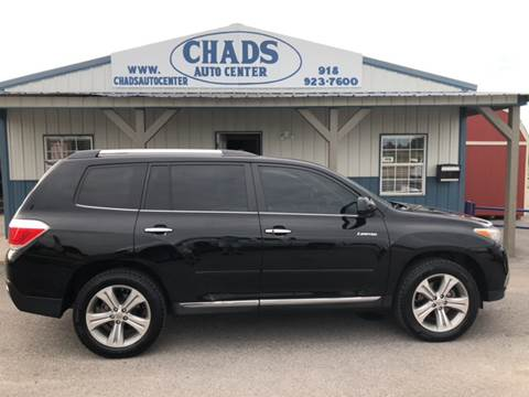2011 Toyota Highlander for sale at Chads Auto Center in Oologah OK