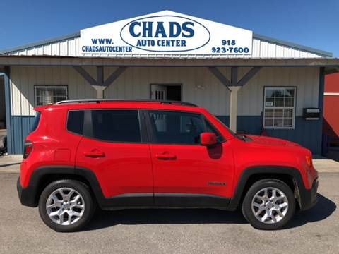 2015 Jeep Renegade for sale at Chads Auto Center in Oologah OK