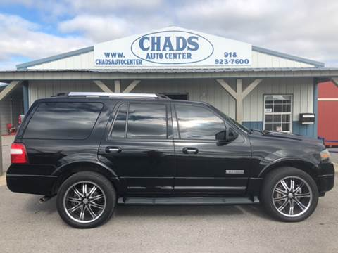 2008 Ford Expedition for sale at Chads Auto Center in Oologah OK