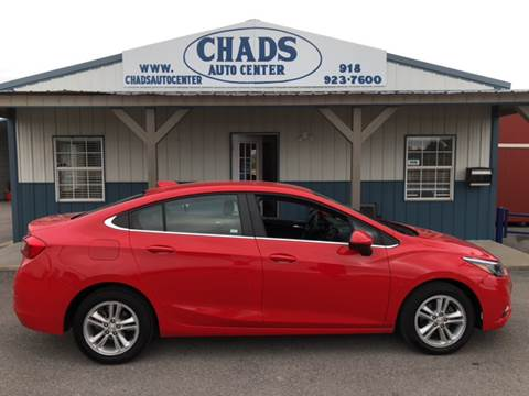 2017 Chevrolet Cruze for sale in Oologah, OK