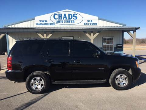 2012 Chevrolet Tahoe for sale at Chads Auto Center in Oologah OK