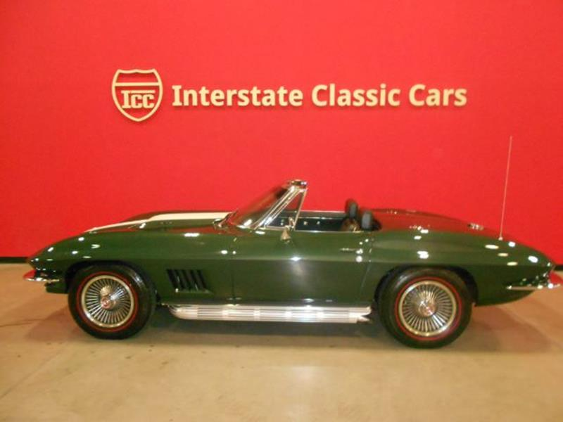1967 Chevrolet Corvette L71 427/435hp In Dallas TX - INTERSTATE ...