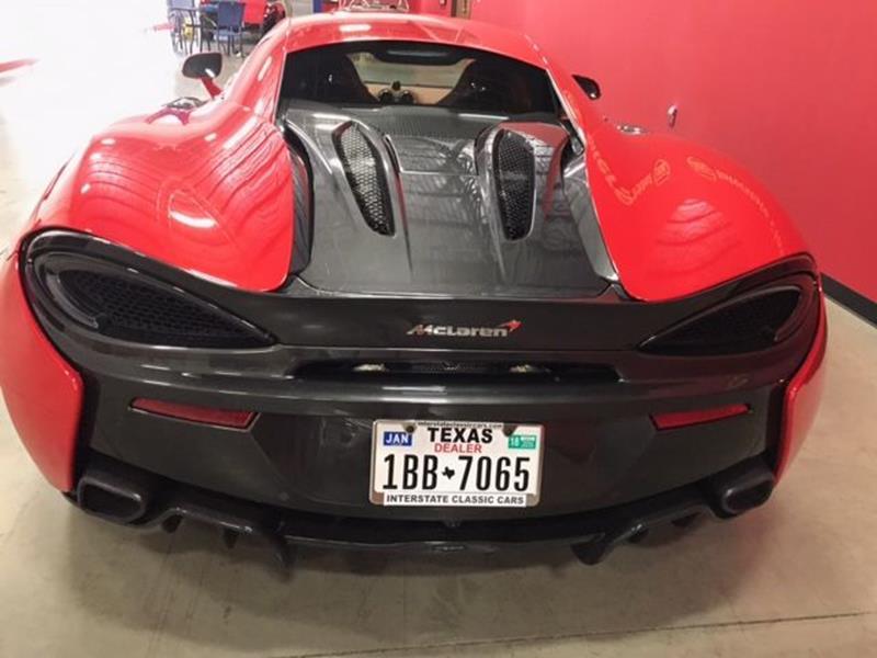 2016 McLaren 570S In Dallas TX - INTERSTATE CLASSIC CARS LLC