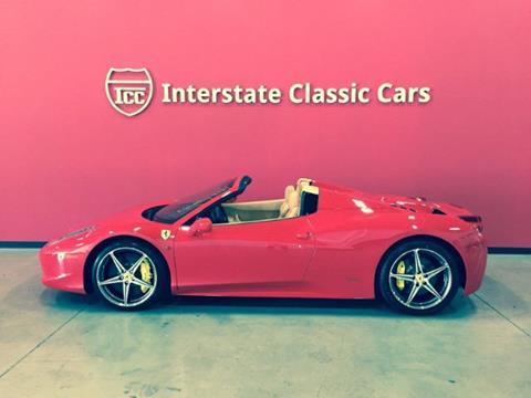2014 Ferrari 458 Spider for sale in Dallas, TX