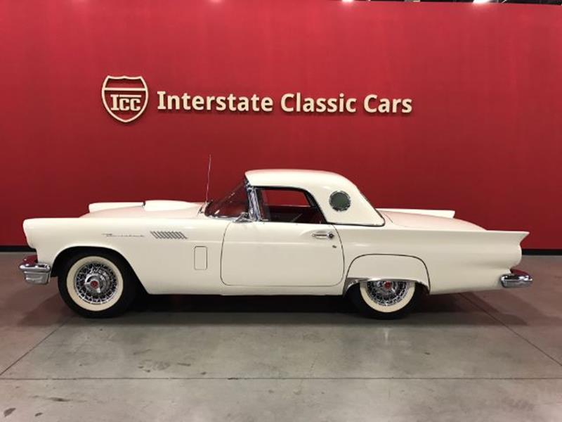 1957 Ford Thunderbird In Dallas TX - INTERSTATE CLASSIC CARS LLC