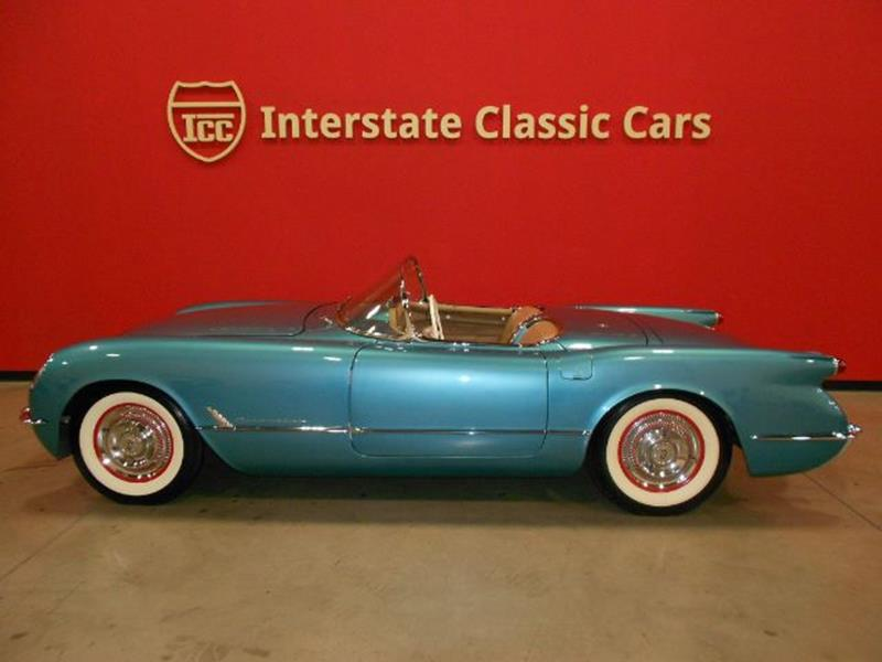 1954 Chevrolet Corvette In Dallas TX - INTERSTATE CLASSIC CARS LLC