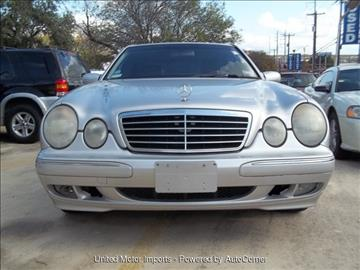 2000 Mercedes-Benz E-Class for sale in San Antonio, TX