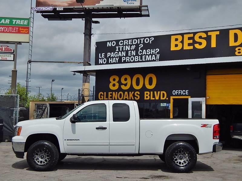 2008 GMC Sierra 1500 for sale at BEST DEAL MOTORS INC. CARS AND TRUCKS FOR SALE in North Hollywood , Los Angeles CA