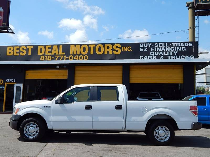 2013 Ford F-150 for sale at BEST DEAL MOTORS INC. CARS AND TRUCKS FOR SALE in Sun Valley, CA