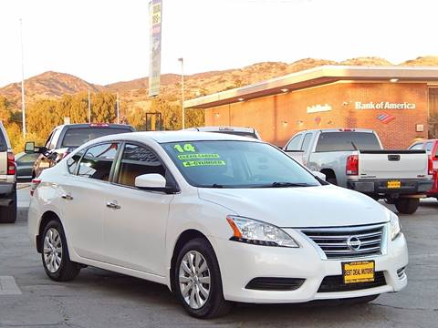 2014 Nissan Sentra for sale at BEST DEAL MOTORS INC. CARS AND TRUCKS FOR SALE in North Hollywood , Los Angeles CA