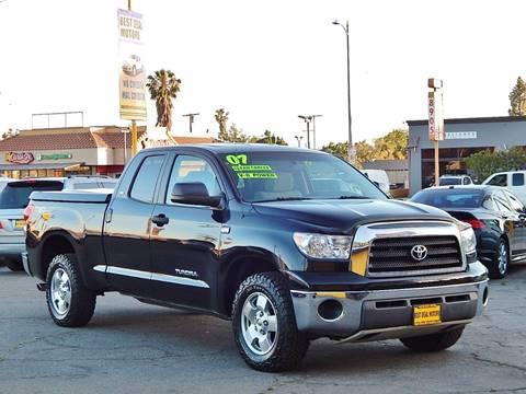 2007 Toyota Tundra for sale at BEST DEAL MOTORS INC. CARS AND TRUCKS FOR SALE in North Hollywood , Los Angeles CA