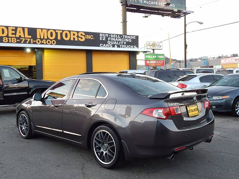 2009 Acura TSX for sale at BEST DEAL MOTORS INC. CARS AND TRUCKS FOR SALE in Sun Valley, CA