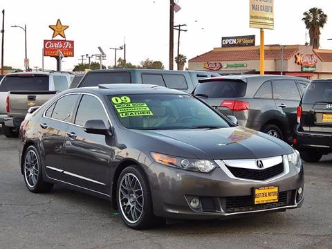 2009 Acura TSX for sale at BEST DEAL MOTORS INC. CARS AND TRUCKS FOR SALE in North Hollywood , Los Angeles CA