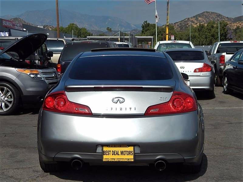 2007 Infiniti G35 for sale at BEST DEAL MOTORS INC. CARS AND TRUCKS FOR SALE in North Hollywood , Los Angeles CA
