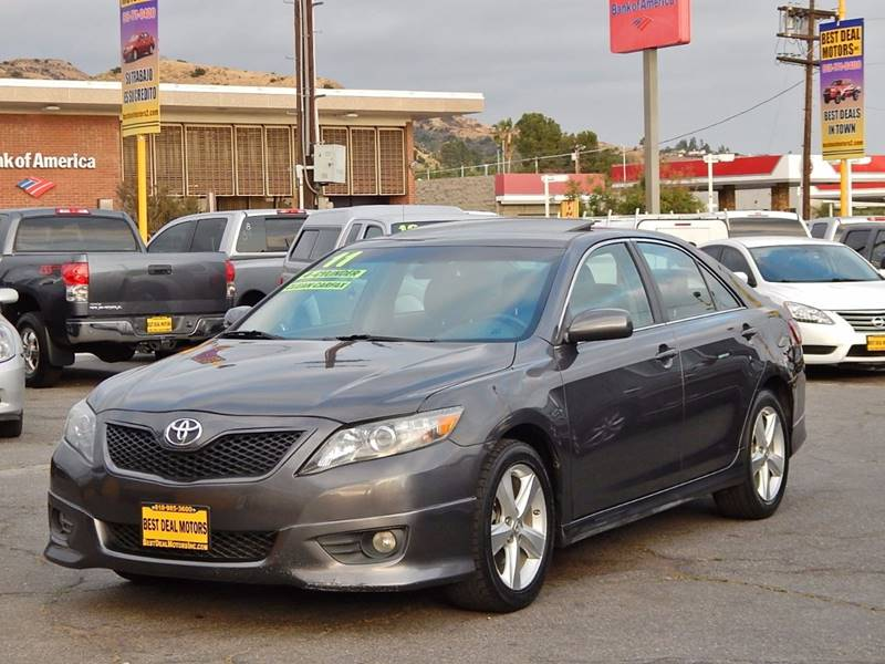 2011 Toyota Camry for sale at BEST DEAL MOTORS INC. CARS AND TRUCKS FOR SALE in North Hollywood , Los Angeles CA