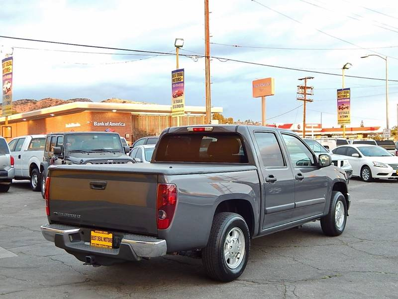 2008 Chevrolet Colorado for sale at BEST DEAL MOTORS INC. CARS AND TRUCKS FOR SALE in North Hollywood , Los Angeles CA