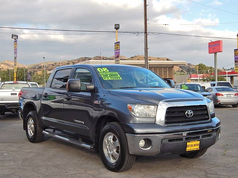 2008 Toyota Tundra for sale at BEST DEAL MOTORS INC. CARS AND TRUCKS FOR SALE in Sun Valley, CA