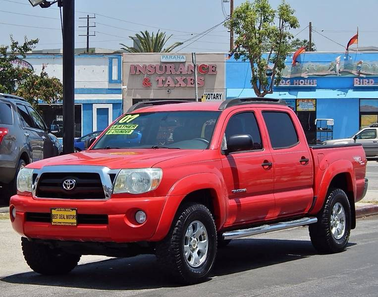 2007 Toyota Tacoma for sale at BEST DEAL MOTORS INC. CARS AND TRUCKS FOR SALE in North Hollywood , Los Angeles CA