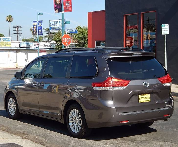 2011 Toyota Sienna for sale at BEST DEAL MOTORS INC. CARS AND TRUCKS FOR SALE in North Hollywood , Los Angeles CA